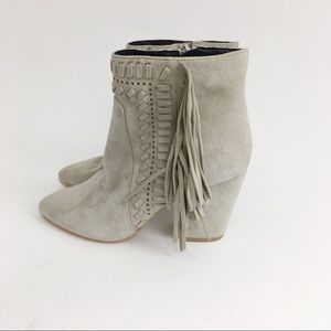Rebecca Minkoff T Fringe ankle Bootie